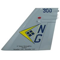 VFA-146 F/A-18 Airplane Tail Flash