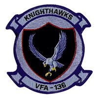 VFA-136 F/A-18 Airplane Tail Flash