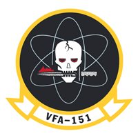 VFA-151 F/A-18 Airplane Tail Flash