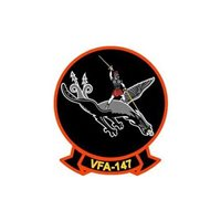 VFA-147 F/A-18E/F Super Hornet Custom Airplane Tail Flash