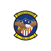VFA-122 F/A-18E/F Super Hornet Custom Airplane Tail Flash