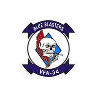 VFA-34 F/A-18E/F Super Hornet Custom Airplane Tail Flash