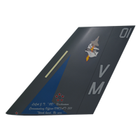 VMFAT-501 F-35 Airplane Tail Flash