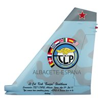 Tactical Leadership Programme SU-27 Airplane Tail Flash
