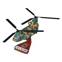 CH-47F Chinook Custom Aircratf Model