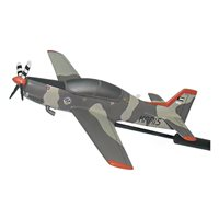 Kuwait Air Force Tucano T52 Custom Airplane Model Briefing Sticks