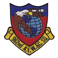 962 AACS AEW&C Squadron Patch