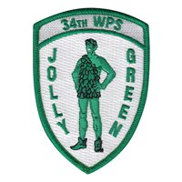 34 WPS Jolly Green Patch