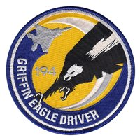 194 FS Griffin Eagle Driver Patch