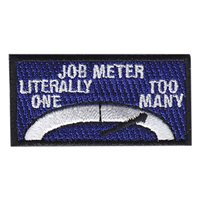 RAAF Job Meter - Too Many Pencil Patch