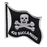 428 FS Buccaneers Flag Patch