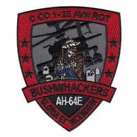 C Co 1-25 AVN Bushwhackers Patch
