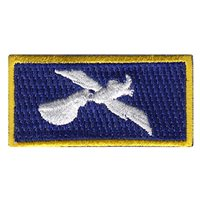 14 AS Blue Pelican Pencil Patch