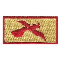 14 AS Red Pelican Pencil Patch
