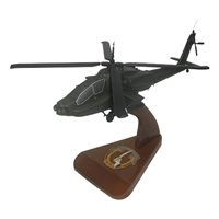 US Army 7th Calvary AH-64 Custom Helicopter Model