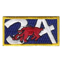 CS-34 Razorback Head Pencil Patch