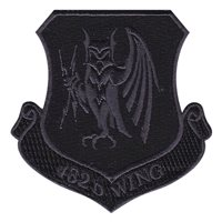 432 WG Black Patch