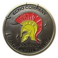 The Basic School Echo Company Coin