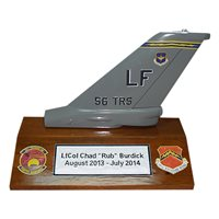 56 TRS F-16 Airplane Tail Flash
