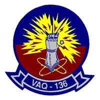 VAQ-136 EA-6B Prowler Custom Airplane Tail Flash