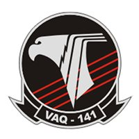 VAQ-141 EA-6B Prowler Custom Airplane Tail Flash