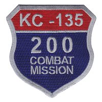 KC-135 200 Missions Patch