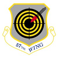 57 WG B-52H Stratofortress Custom Airplane Tail Flash