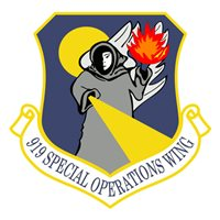 919 SOW MQ-1 Predator Custom Airplane Tail Flash