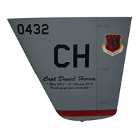 432 WG MQ-9 Reaper Custom Airplane Tail Flash