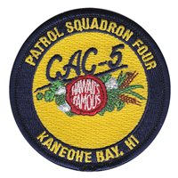 VP-4 CAC-5 Crew Patch