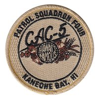 VP-4 CAC-5 Crew Desert Patch