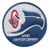 94 FS Spad Raptor Driver White Patch