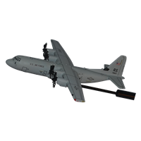 86 AW C-130J-30 Super Hercules Custom Airplane Model Briefing Sticks