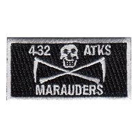 432 ATKS Marauders Pencil Patch