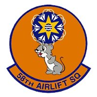 58 AS C-17 Airplane Tail Flash