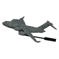 62 AW C-17 Globemaster III Custom Airplane Model Briefing Sticks