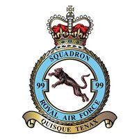 99 SQN RAF C-17 Airplane Tail Flash | Custom C-17A Globemaster III Aircraft Tail Flash Plaque