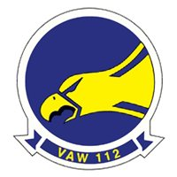 VAW-112 E-2 Custom Airplane Briefing Stick