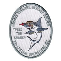 33 SOS Shark Patch