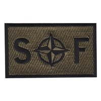 NATO SF Olive Drab Patch
