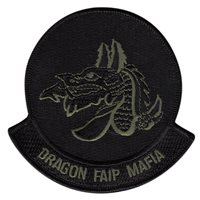33 FTS Dragon MAFIA Green Patch