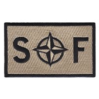 NATO SF Desert Patch