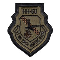 34 WPS HH-60 Division Legacy Instructor MultiCam Patch With Leather