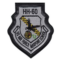 34 WPS HH-60 Instructor Patch Color With Leather