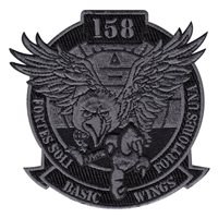 158 BWC Black Out Patch