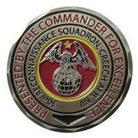 30 RS Commander Challenge Coin