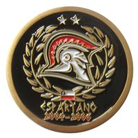 Chile Air Force Espartano Coin, Custom Air Force Challenge Coin