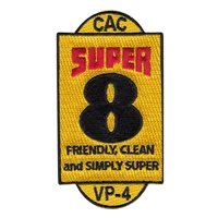 VP-4 CAC-8 Super 8 Color Patch