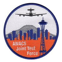 AWACS Joint Test Force Seattle Patch