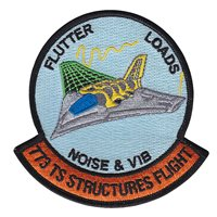 773 TS Structures Flight Patch